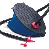Насос ножной 29см INTEX 69611 для бассейна, матраса, лодки, мяча для фитнеса