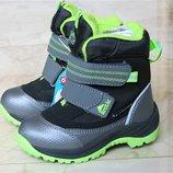 Зимние термо ботинки на мальчика B&G 23 - 30 р в наличии ZTE20-2-45