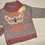 Свитшот свитер вязанный