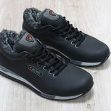 Мужские зимние ботинки из натуральной кожи, код ks-2642
