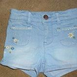 Джинсовые шорты Gap, размер 2-3 года