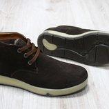 Мужские зимние ботинки из натуральной замши, код ks-2821