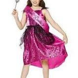 Ведьма Колдунья Принцесса Королева бала костюм 12-14 лет