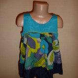 Блуза, блузка, майка, футболка Некст Next на 8 лет, 100% вискоза, Индия