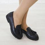 Туфли кожаные Скидка