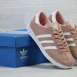 Adidas Hamburg кроссовки пастельный с белым 5961