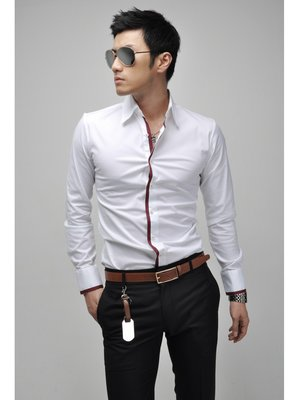 Рубашка мужская белая Man