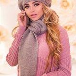 Комплект Моника берет и шарф 6003-10