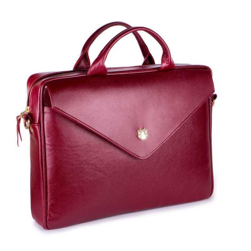 88cb0bbd9765 Кожаная сумка бесплатная доставка Felice Fl 15 Red женская сумка для  ноутбука натуральная кожа: 5254 грн - деловые сумки в Одессе, объявление  №18316062 ...