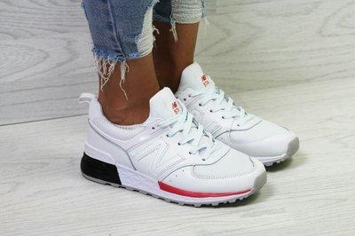 Женские кроссовки New Balance 574 White Black Red  900 грн ... 3b729cf5806