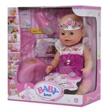 Кукла пупс Baby love принцесса с короной функциональный. Беби борн аналог Baby born