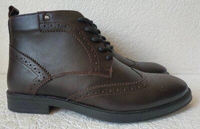 TODS реплика мужские броги оксфорд на шнуровке натуральная кожа ботинки демисезон