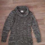 Вязанное платье- туника Papaya 12р на наш 48р