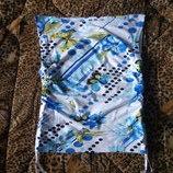 Обалденный топ с ярким принтом женская майка летняя новая кофточка