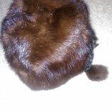 шапка норковая женская 54-56р,почти новая