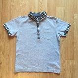Стильная футболка - поло для мальчика Next, размер 92-98