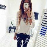 Женская блузка софт 2 цвета