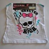 Белье Monster High от Mattel, набор трусы и майка для девочки 8 лет, смотрите замеры