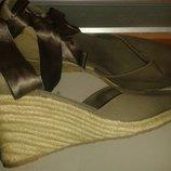 босоніжки хакі р40 Graceland текстиль