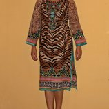 Пляжное платье-туника xs-s