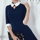 Стройное платье креп костюмка скл.1 арт.43830