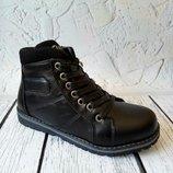 SALE Демисезонные кожаные ботинки в наличии 35.36 р.