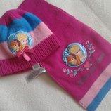 Набор шапка и шарф Анна и Эльза Disney