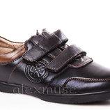 Школьные кожаные туфли KANGFU