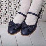 Туфли школьные девочковые Woopy Orthopedic