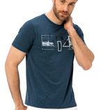 Синяя мужская футболка LC Waikiki / Лс Вайкики с рисунком и надписью Istanbul на груди