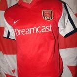 Спортивная раритет футбольная футболка Nike ф.к Арсенал xs-s 14-16 .лет
