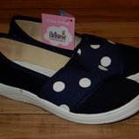 Дитяче взуття для дівчинки Горошок Валді
