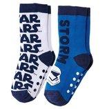 Комплект из двух пар носков star wars abs с силиконовой подошвой бельгия lidl