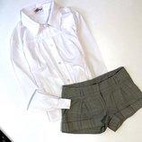 Блуза и шорты в школу 10-12лет