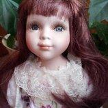 Фарфоровая кукла , большая,60см