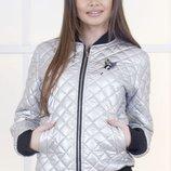 Куртка плотная плащевка с брошкой синтепон 150 арт.38269 скл.1