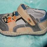 Ботинки на мальчика кожаные 25р.-30р. S.ounny KIDS SHOES Венгрия