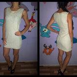 Платье светлый беж