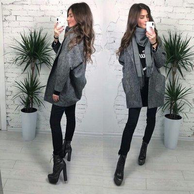 Пальто твидовое 42-44-46-48 размеры