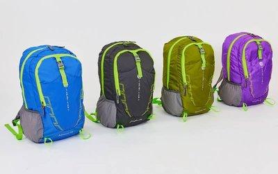 Рюкзак спортивный складной Color Life 9008 размер 47х30х19см 4 цвета