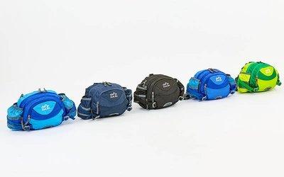 Сумка поясная Waist Bag Color Life 5335 размер 28х18х9см 5 цветов
