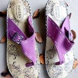 Босоножки обалденные комфортные Pavers Англия натуральная кожа р. 39 новые сток идеальная обувь