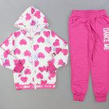 Трикотажный костюм - двойка для девочек Grace 116-146 -pp