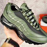 Кроссовки мужские Nike 95 dark green