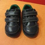 Туфли, кроссовки с мигалками р.20,5 4,5 G Clarks, Вьетнам, натур.кожа,