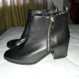 Ботильйоны кожаные new look 39 размер