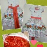 Пышные нарядные выпускные украинские детские платья - новые модели