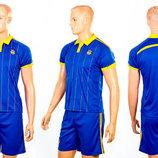 Форма футбольная детская Украина 3900-UKR-14B размер XS-XL
