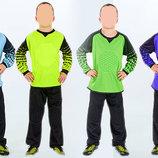 Форма футбольного вратаря детская 7607 вратарская форма детская размер 24-28 от 6 до 12 лет