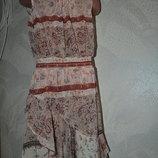 красивое платье девочке Next на 5 лет рост 110